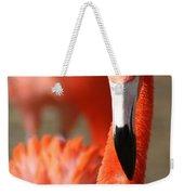 Flamingo Pose Weekender Tote Bag