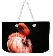 Flamingo Softness Weekender Tote Bag