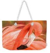 Flamingo - Spirit Of Balance Weekender Tote Bag