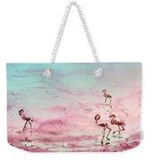 Flamingos In Camargue 03 Weekender Tote Bag