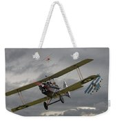 Flander's Skies Weekender Tote Bag by Pat Speirs