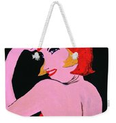 Flapper Girl In Orange C1929  Weekender Tote Bag
