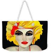 Flapper Girl  Weekender Tote Bag