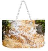 Flash Flood In West Coast Creek Of Nz South Island Weekender Tote Bag