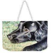 Flat Coated Retriever Weekender Tote Bag