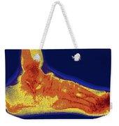 Flat Foot X-ray Weekender Tote Bag