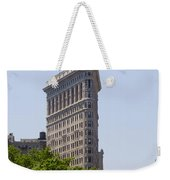 Flat Iron Building Weekender Tote Bag by Bill Cannon