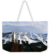 Flat Top Mountain Weekender Tote Bag