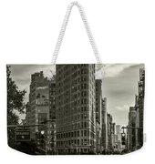 Flatiron Building - Black And White Weekender Tote Bag