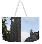 Flatiron Building - Manhattan Weekender Tote Bag