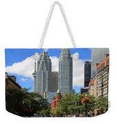 Flatiron Building Toronto 2 Weekender Tote Bag