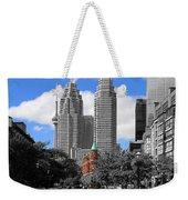 Flatiron Building Toronto 2c Weekender Tote Bag