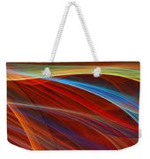 Flaunting Colors Weekender Tote Bag