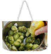 Flavoring Brussels Sprouts Weekender Tote Bag