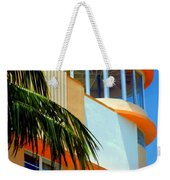 Flavour Of Miami Weekender Tote Bag by Karen Wiles