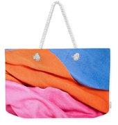 Fleece Material Weekender Tote Bag