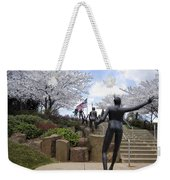 Fleeting Spring At The Arena Weekender Tote Bag