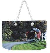 Fleisher's Bridge Weekender Tote Bag