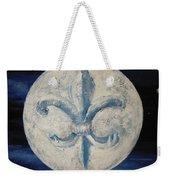 Fleur De Lies Moon Weekender Tote Bag