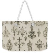 Fleur De Lys Designs From Every Age And From All Around The World Weekender Tote Bag