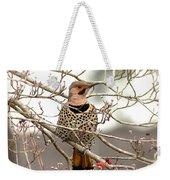 Flicker - Alabama State Bird - Attention Weekender Tote Bag