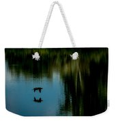 Flight Of The Cormorant Weekender Tote Bag