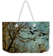 Flight Of The Forest Crows Weekender Tote Bag