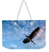Flight Of The Heron Weekender Tote Bag
