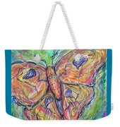 Flight Of The Moth Weekender Tote Bag