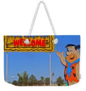 Flinstones Bedrock City In Arizona Weekender Tote Bag