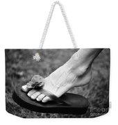 Flip Flop  Weekender Tote Bag