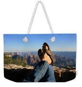 Flip Flop View Weekender Tote Bag