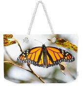 Flirting Monarch Weekender Tote Bag