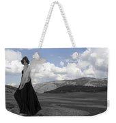 Flirty Fairy Black And White Weekender Tote Bag