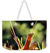 Flirty Mantis Weekender Tote Bag