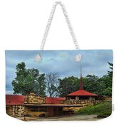 Fllw Welcome Center - Spring Green- Wisconsin Weekender Tote Bag