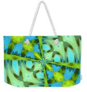 Float 4 Pattern Weekender Tote Bag