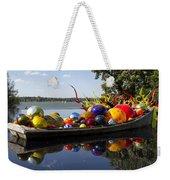 Float Boat Weekender Tote Bag
