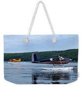 Float Planes On Keuka Weekender Tote Bag