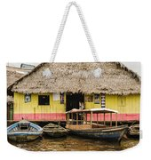 Floating Bar In Shanty Town Weekender Tote Bag