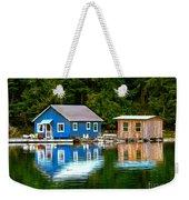 Floating Cabin Weekender Tote Bag