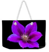 Floating Clematis Weekender Tote Bag
