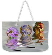 Floating Flowers Weekender Tote Bag