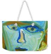Floating Head Weekender Tote Bag