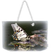 Floating In Water - Swallowtail -butterfly Weekender Tote Bag
