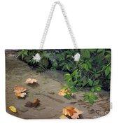 Floating Leaves By George Wood Weekender Tote Bag
