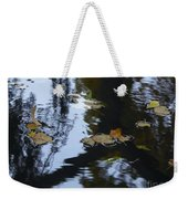 Floating Leaves Weekender Tote Bag
