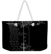 Floating Oil Rig Patent Weekender Tote Bag