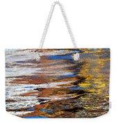 Floating On Blue 12 Weekender Tote Bag