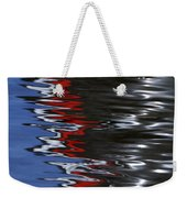 Floating On Blue 14 Weekender Tote Bag